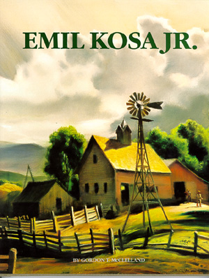 EMIL KOSA, JR.   </a> EMIL KOSA, JR.<br />by: McClelland<br /></p></div><br /> Oil and watercolor paintings Emil Kosa, Jr. have been produced during the 1930 to 1968.<br /> <a href=