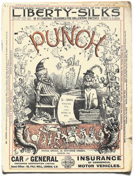 Punch Magazine  Illustration